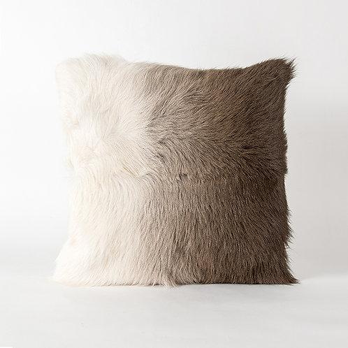 Prague cushion - brown ombre