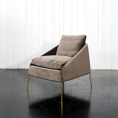 Frida armchair - dark grey