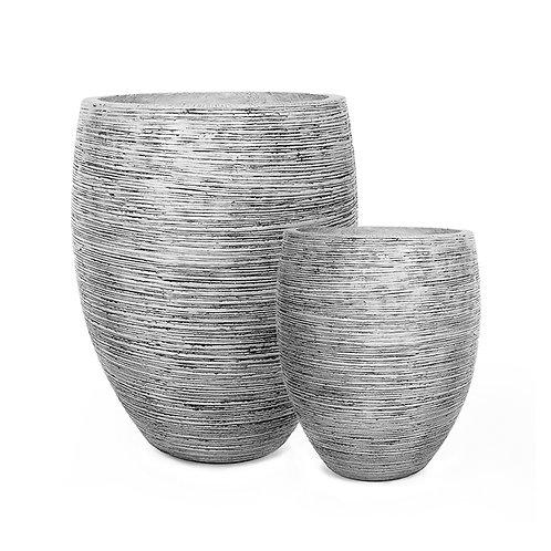 Cement horizontal pot