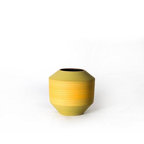 Lantern vase - medium (yellow)
