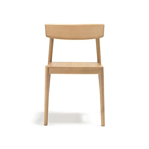 SMART side chair - natural oak
