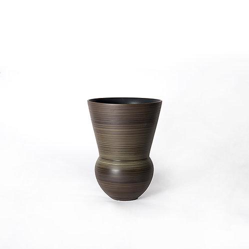 Bell vase - tall (dark grey)