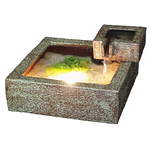 Square Water Fountain- 2 floors