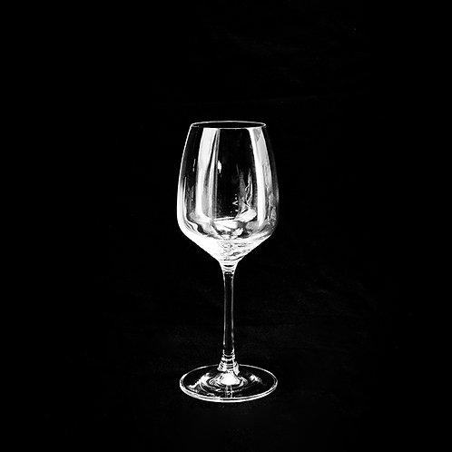 Gis crystal wine glass