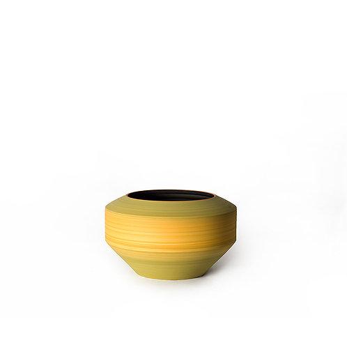 Lantern vase - short (yellow)