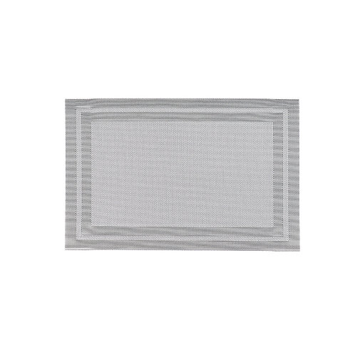 Double table mat - silver