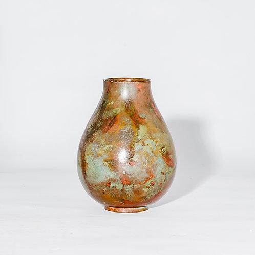 Meiji bronze vase #28
