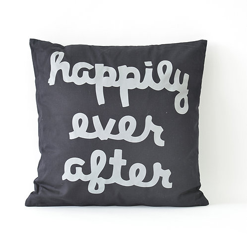 Happily ever after square cushion