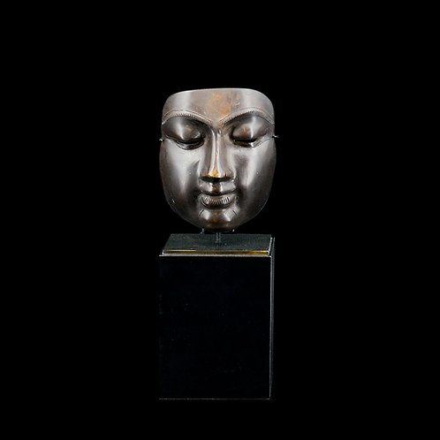 Buddha face w/ stand, #1