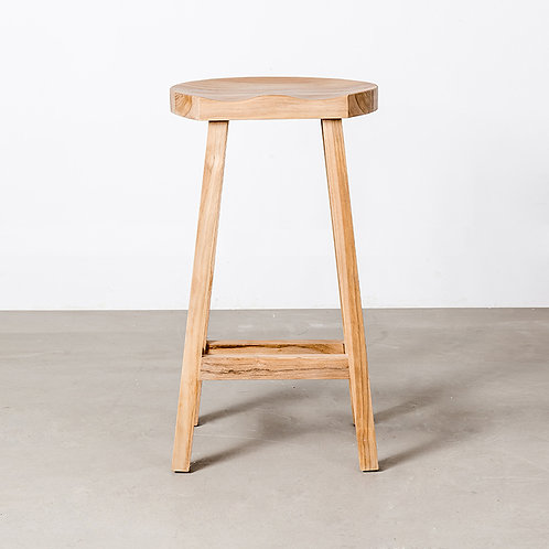Top barstool natural