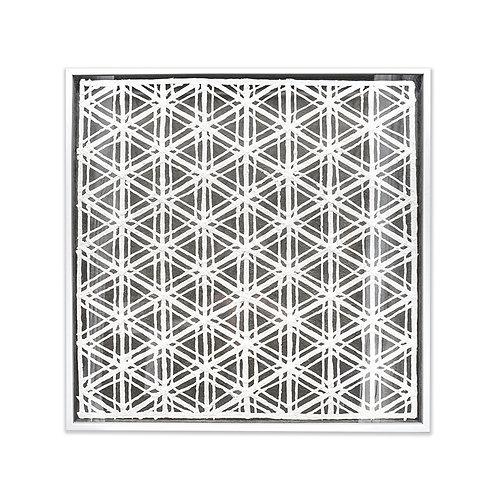 Woven paper artwork #6