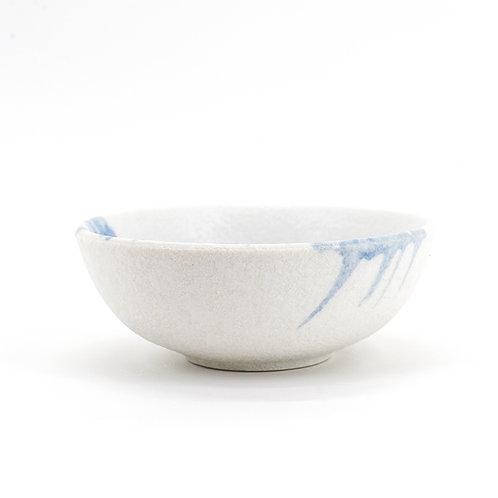 Stains ceramic round bowl, dia110