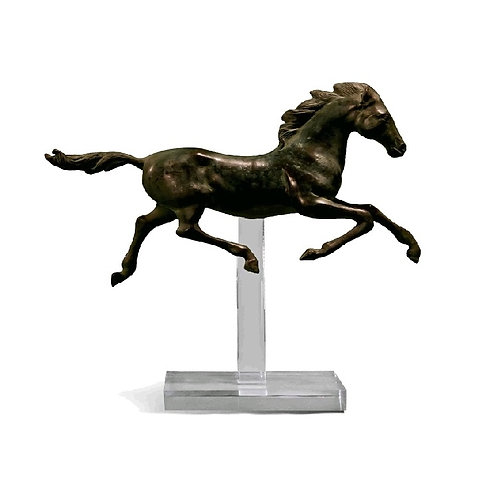 Galloping horse statue #3