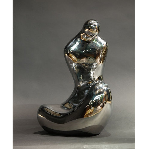 Human form no. 5 (stainless steel)