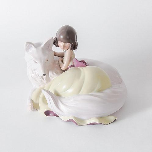 Dreamland - girl & fox