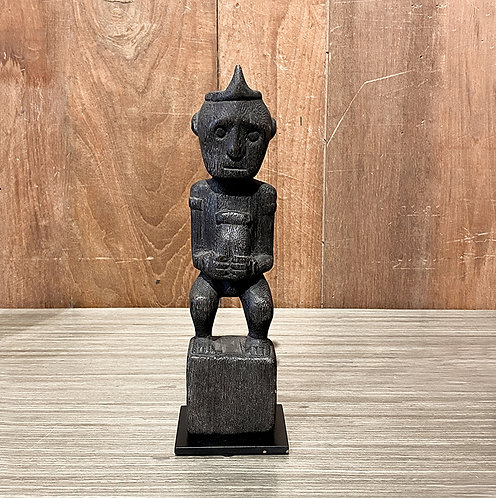 Wooden dayak figure #2