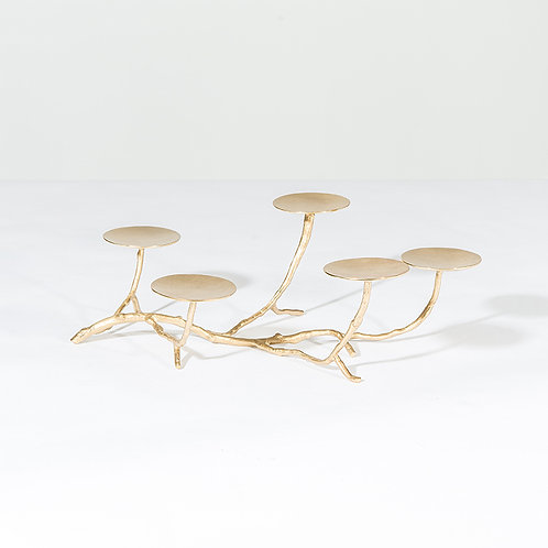 Five pillar candle stand
