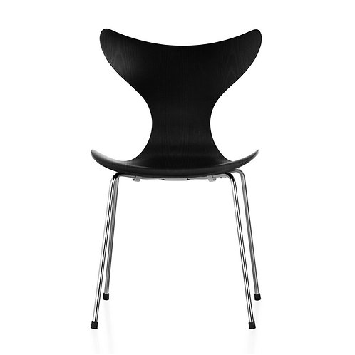 LILY stacking chair - black