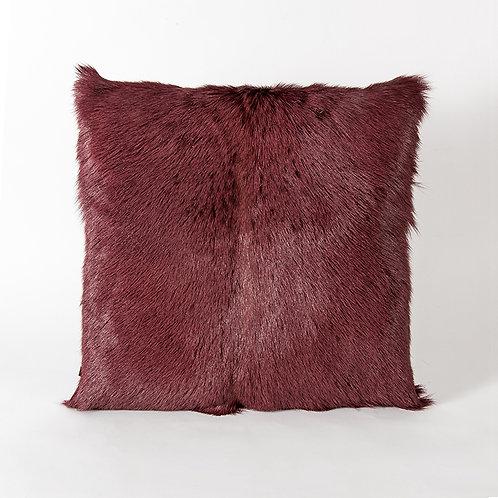 Prague cushion - wine red
