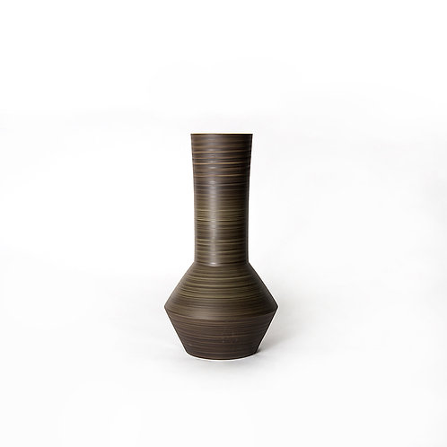 Tube vase - tall (dark grey)