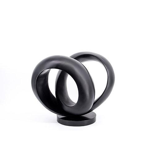 Ring no. 2 - fiber glass - bronze