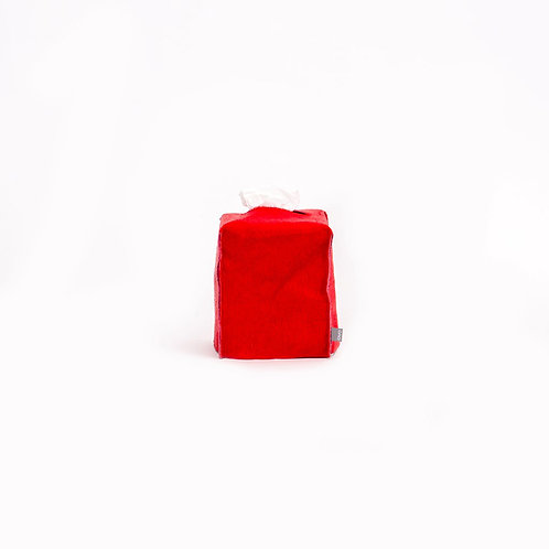OVO - square tissue box (red)