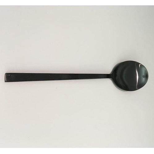 Dinner spoon in matte black