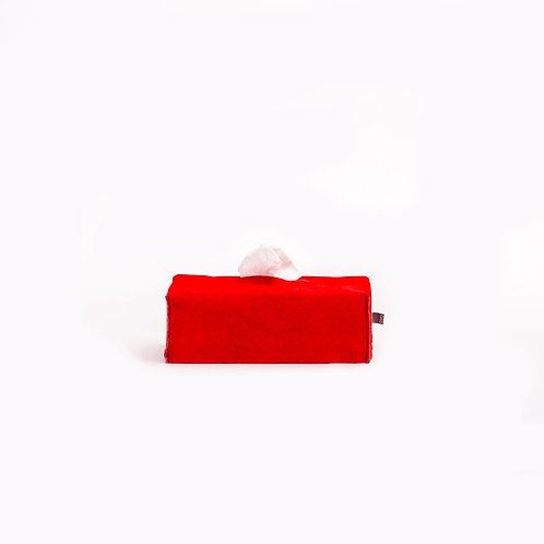 OVO - rectangle tissue box (red)