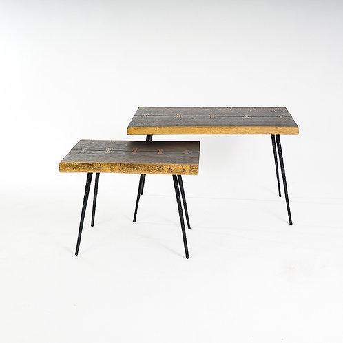 NEXA nesting table, set of 2