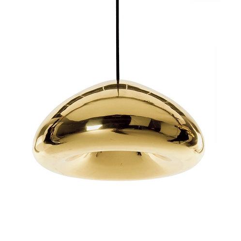 Void Pendant Light in Brass