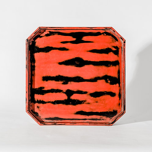 Old japanese lacquer tray, #5