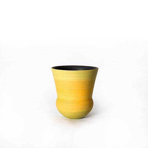 Bell vase- short (yellow)