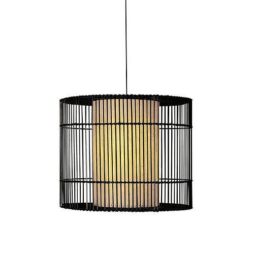 Kai - o hanging lamp (brown), medium