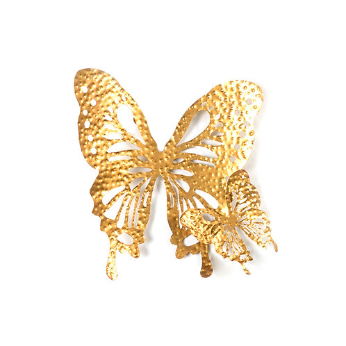 Laser cut butterfly wall sculpture, w470mm