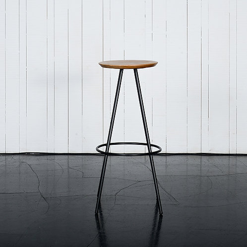 Concave barstool