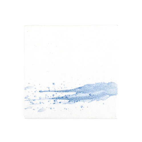Stains ceramic square flat plate, w225