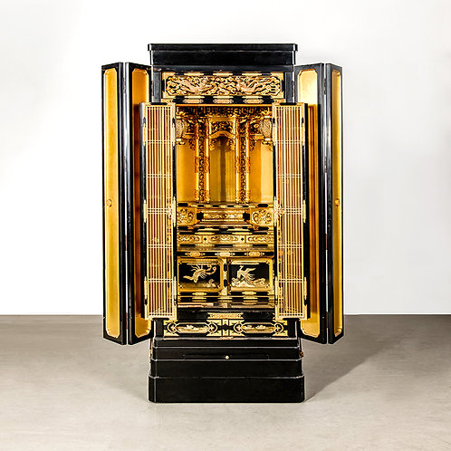 Japanese Buddha cabinet