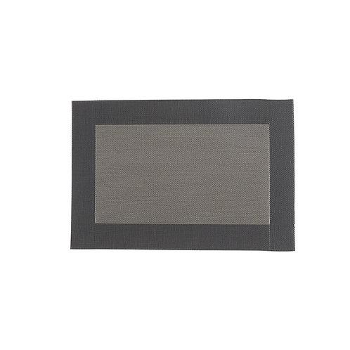 Etdz table mat - brown/ grey
