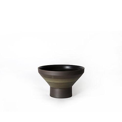 Funnel bowl- short (dark grey)