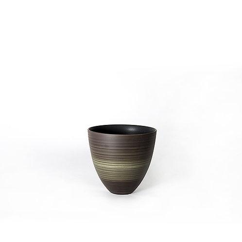 Top vase - short (dark grey)