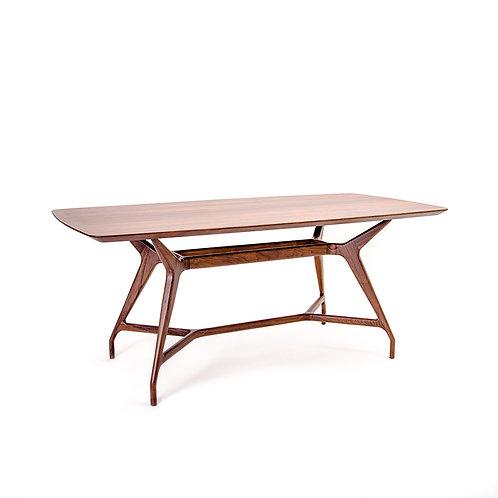 Walnut Solemn Dining Table, w1800