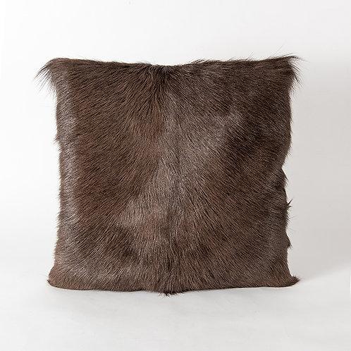 Prague cushion - dark brown