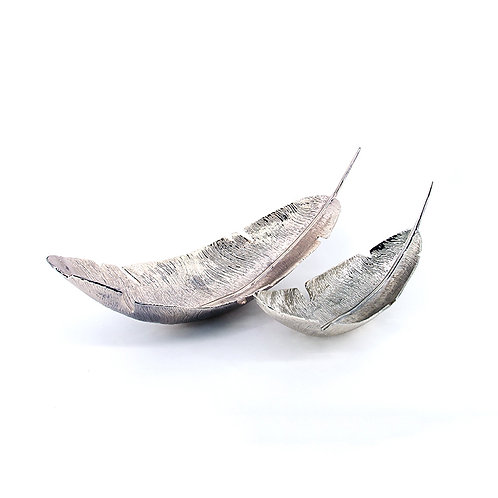 Aluminium feather bowl
