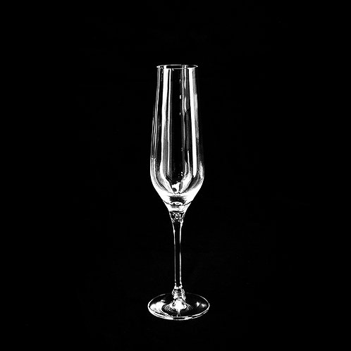 Gis crystal champagne glass