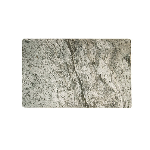 Slate stone placemat w/ rubber
