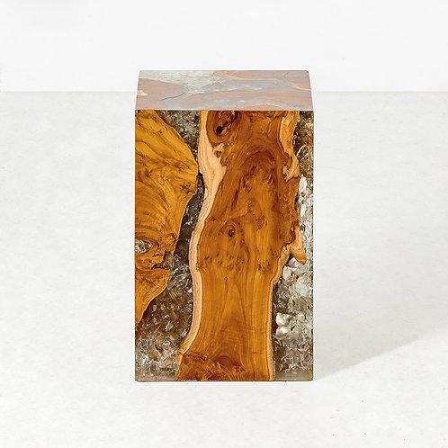 Aqua block stool