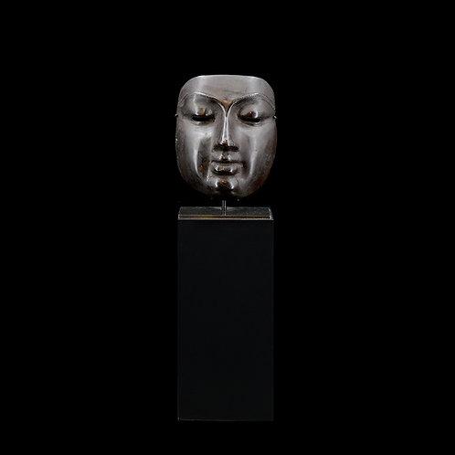Buddha face w/ stand, #3