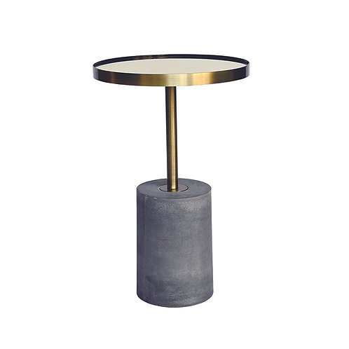 Mirror Coffee Table, Gold, H642