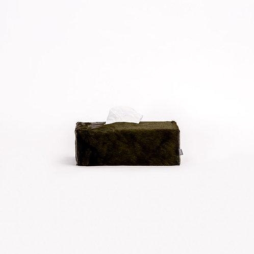 OVO - rectangle tissue box (olive green)