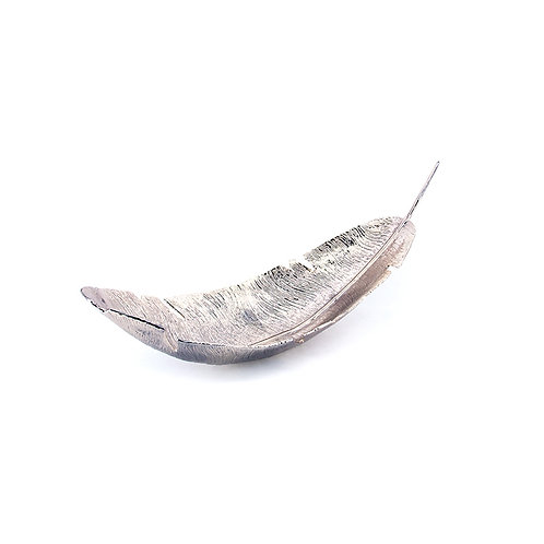 Aluminium feather bowl, L